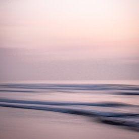 Avond aan zee van Gonnie van de Schans