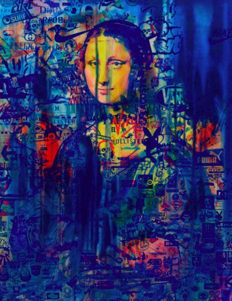 Mona Lisa Dadaismus Pop Art Pur van Felix von Altersheim