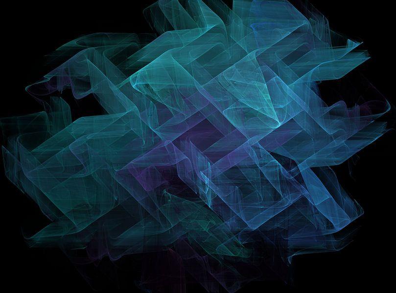 Geometric Symphony van Christy Leigh