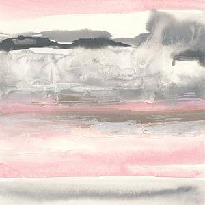 Holzkohle und Blush I Crop, Chris Paschke