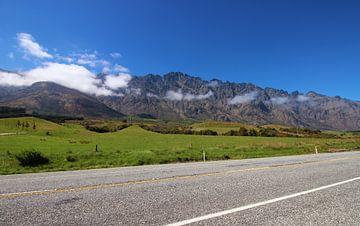 Berglandschaft Neuseeland von GoWildGoNaturepictures