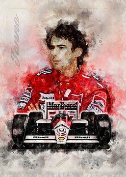 Ayrton Senna da Silva von Theodor Decker