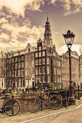 Zuiderkerk Amsterdam Kloveniersburgwal Winter Oud