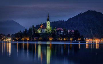 Insel Bled (Blejski otok) von Mart Houtman