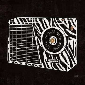 Radio analogique de la jungle, Michael Mullan sur Wild Apple