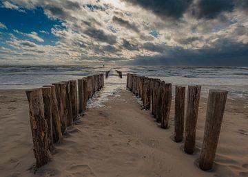 Blick aufs Meer von Jeroen te Lindert