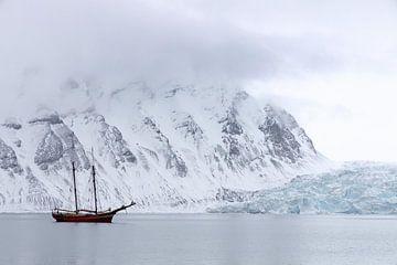 Spitzbergen im Winter von Marieke Funke
