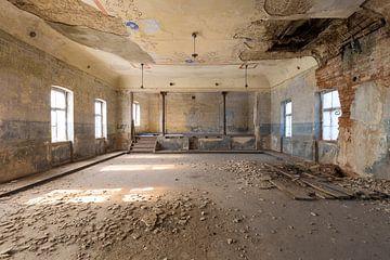 salle de bal abandonnée sur Kristof Ven