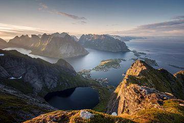 Norwegisches Paradies Lofoten von Niels Devisscher