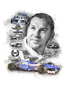 Jacques Villeneuve van Theodor Decker