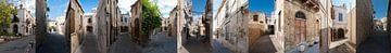 De straten van Girne (Kyrenia) van