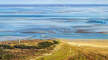 Terschelling, das Wattenmeer und das Festland von Roel Ovinge