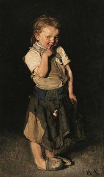 Das Schustermädchen, Max Liebermann