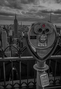 Empire State in zicht van Joris Pannemans - Loris Photography