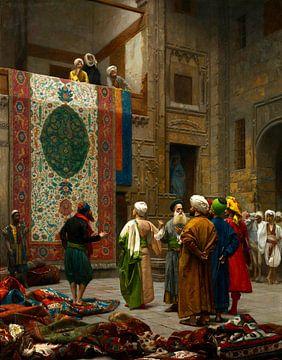 Le marchand de tapis, Jean-Léon Gérôme