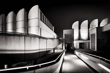 Photographie en noir et blanc : Berlin - Bauhaus Archiv sur Alexander Voss