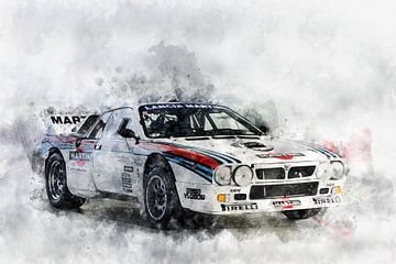 Lancia Martini Rally Evo2 van Theodor Decker