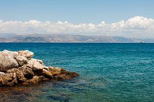 Corfu beach van