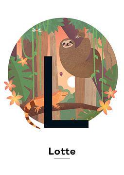 Name Poster Lotte von Hannahland .