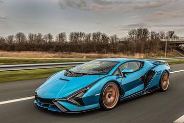 Lamborghini Sian sur Bas Fransen
