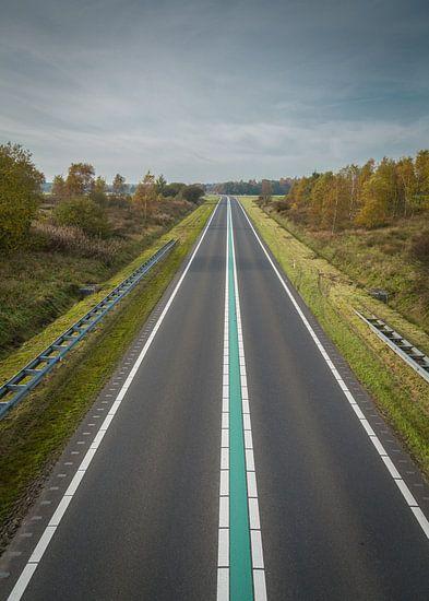 Friesland route nabij Sleen