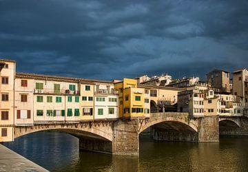 Ponte Vecchio Brücke von Marcel van Balken