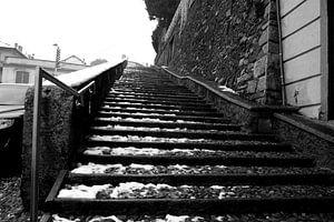 Escalier vers le ciel sur Sander de Jong