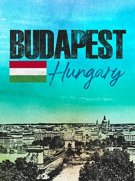 Budapest sur Printed Artings