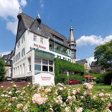 Art nouveau hôtel Bellevue à Traben-Trarbach sur Berthold Werner