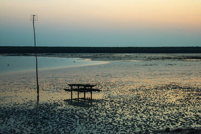 Picknick op zee. van Kees vd Heijden