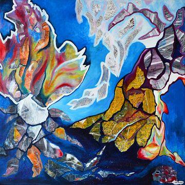 Die große tiefblaue Meer von Lida Bruinen
