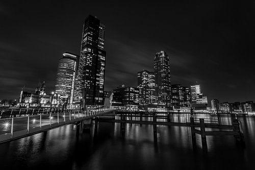 Rotterdam 's avonds van