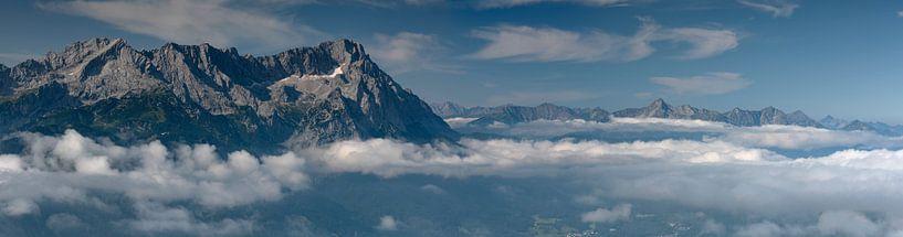 Zugspitzblick Panorama von Andreas Müller