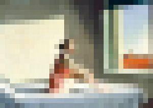 Pixel Art: Ochtend Gloed van JC De Lanaye