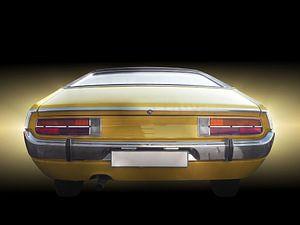 Europese klassieke auto Consul GT Coupe 1972