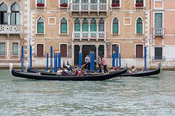Gondel Venedig von Merijn Loch