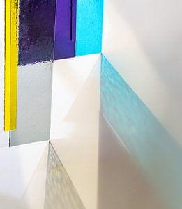 schöner Glasdruck