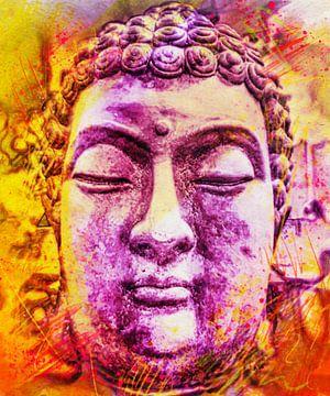 Buddha - Bunt 07032021 von Michael Ladenthin