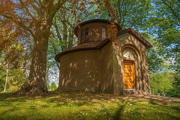 Pier Pander tempel in Leeuwarden. van Marcel Kieffer