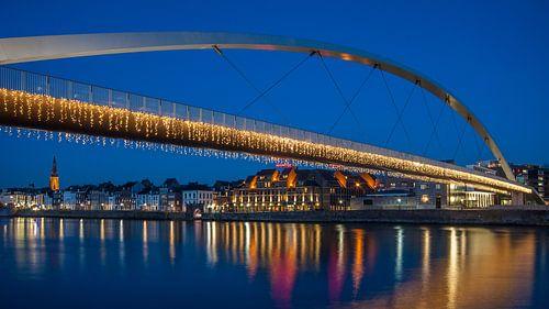 Hoge Brug  in Maastricht van Bert Beckers