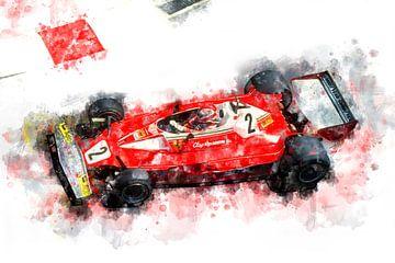 Clay Regazzoni, Ferrari von Theodor Decker