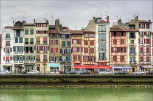 Quai Galuperie, Bayonne, France