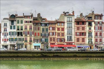 Quai Galuperie, Bayonne, France van Hans Kool