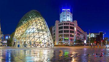 Panorama de Blob en Lichttoren Eindhoven 2 van Anton de Zeeuw