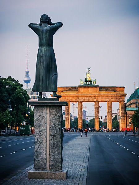 Berlin – Strasse des 17. Juni van Alexander Voss