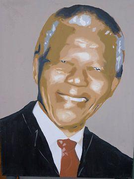 Nelson Mandela von Jan Wiersma