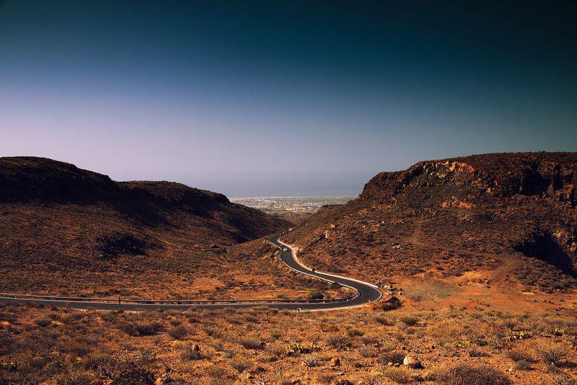 Gran Canaria Road van Helga van de Kar
