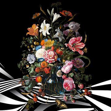 The Vase with Flowers van Marja van den Hurk