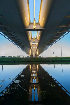 Calatrava (Harfe) nach Sonnenuntergang von Frank Laurens