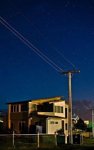 Sterrenhemel in Whitianga, Nieuw Zeeland